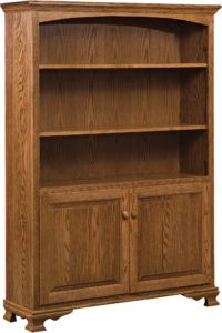 Heritage Bookcase with Doors 48""