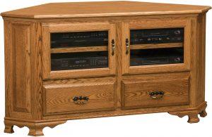 Heritage Large Corner TV Cabinet