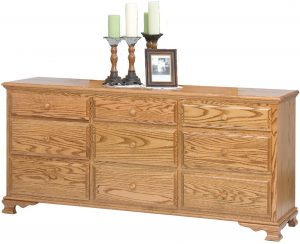 Heritage Nine Drawer Dresser