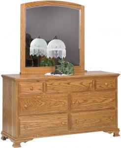 Heritage Seven Drawer Dresser