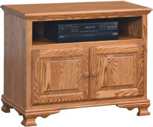 Heritage Small Two Door TV Console