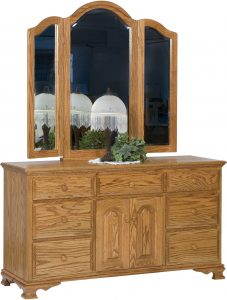 Heritage Seven Drawer, Two Door Dresser