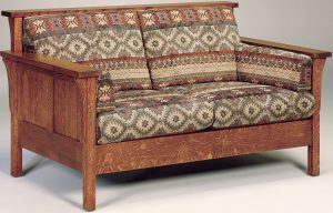 Highback Panel Loveseat