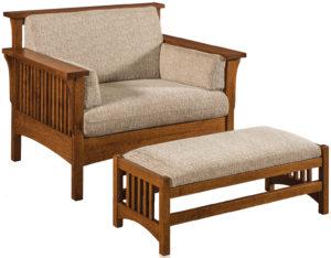 Highback Slat Chair