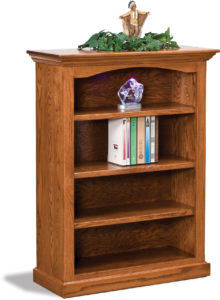 Hoosier Heritage Three Shelf Bookcase