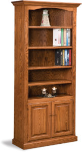 Hoosier Heritage Two Door Bookcase
