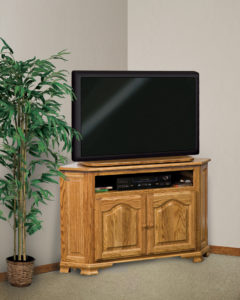Hoosier Heritage Two Door Corner LCD Stand