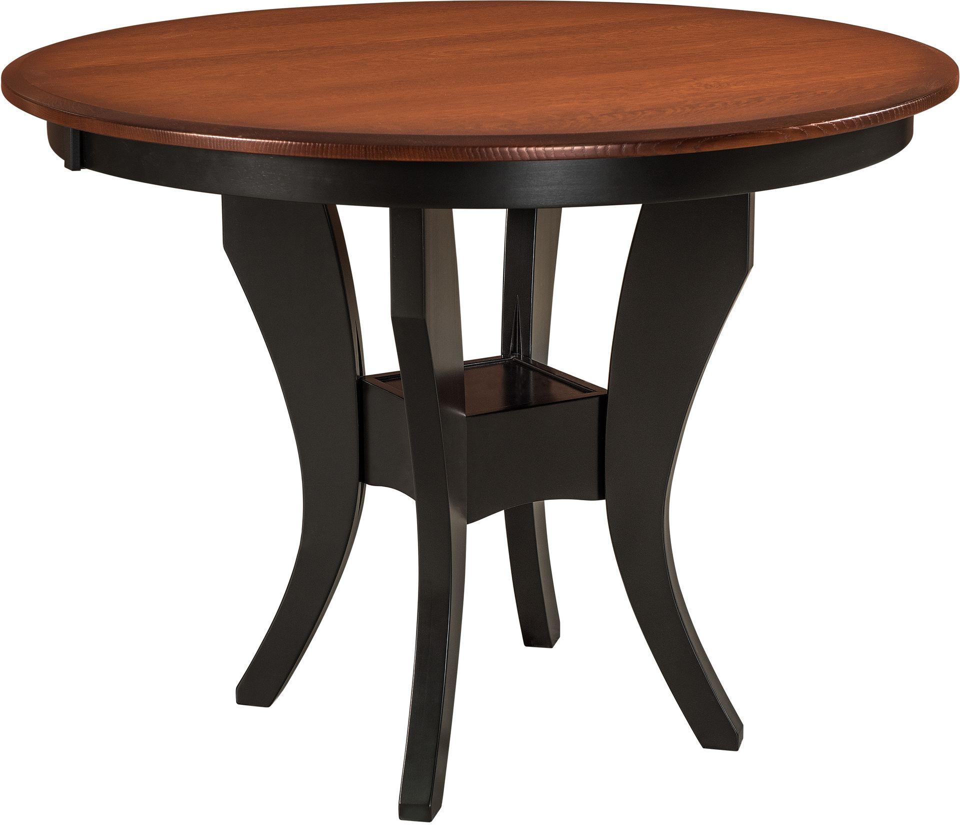 imperial single pedestal pub table