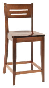 Jansen Wooden Bar Chair
