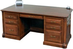 Jefferson Premier Executive Desk XL
