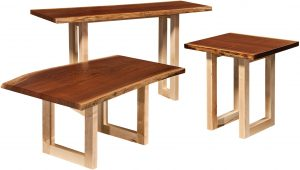 Kalispel Live Edge Occasional Table Collection