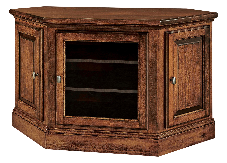 Kincade Small Corner TV Cabinet | Amish Kincade Small ...
