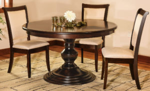 Kingsley Single Pedestal Dining Set