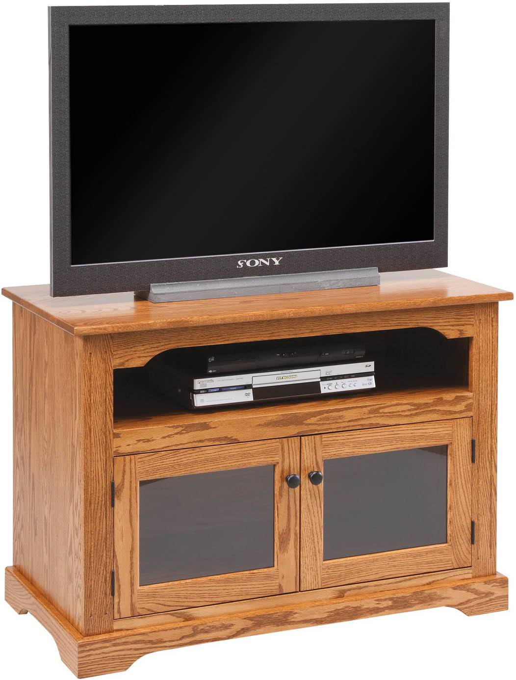 Entertainment centers amish furniture by brandenberry for Mission style entertainment center plans