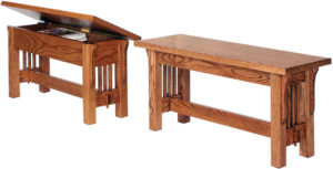 Landmark Mission Bench Collection
