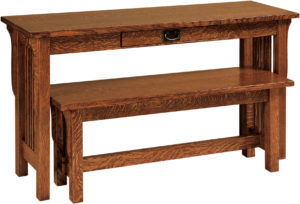 Landmark Nesting Sofa Table and Bench