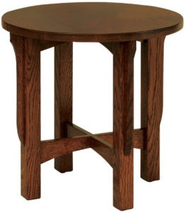 Landmark Round End Table