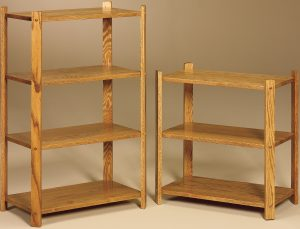 Large Rectangle Three and Four Tier Stands