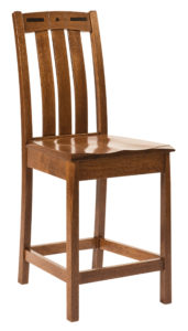 Lavega Wooden Bar Chair