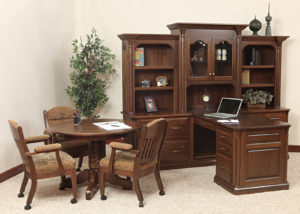 Lexington Wood Office Set