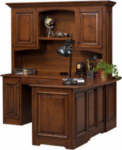 Liberty Classic Corner Desk with Hutch