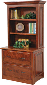Liberty Lateral File Cabinet with Hutch