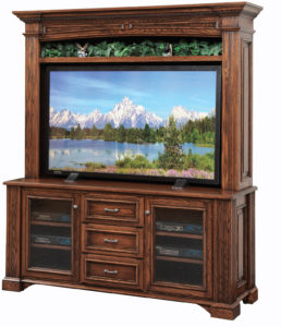 Lincoln TV Stand with Open Hutch