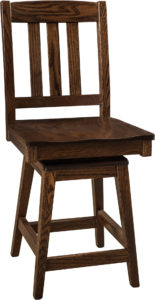 Lodge Swivel Bar Stool
