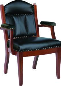 Low Back Client Arm Chair