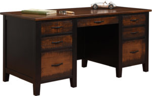Manhattan 66 Inch Executive Desk