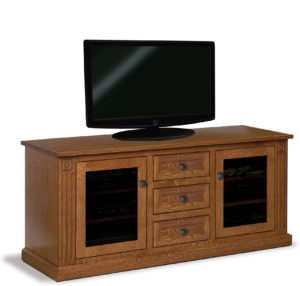 Manhattan Mission Three Drawer LCD Stand