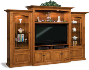 Manhattan Mission Three-Piece Wall Unit