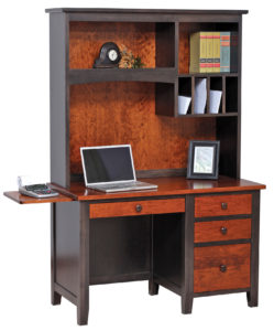 Manhattan Work Station with Hutch