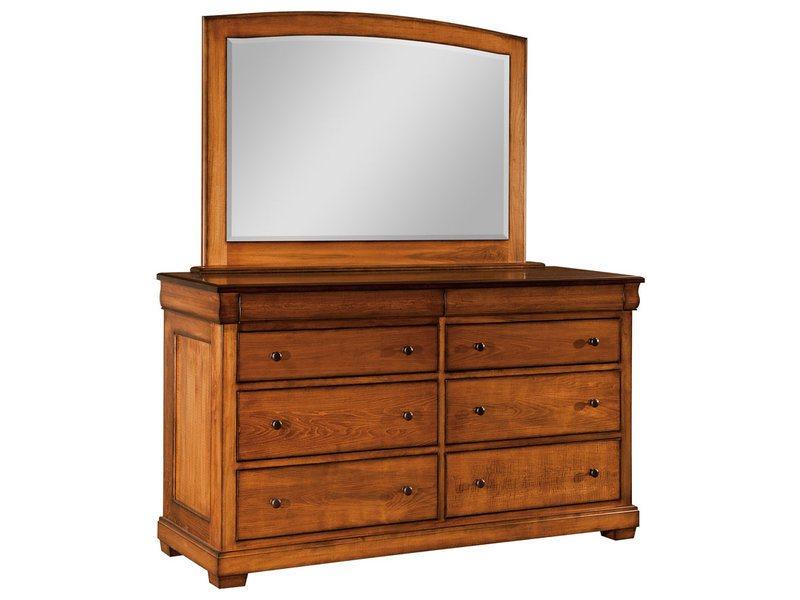 Marshfield 8 Drawer Dresser with Mirror