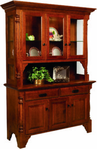 Mattina Six Door Hutch