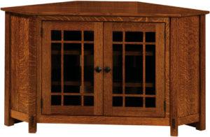McCoy TV Corner Cabinet