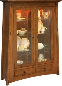 McCoy Two Door Curio Cabinet