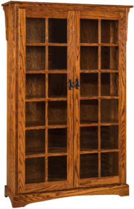 Mission Large Bookcase with Two Doors