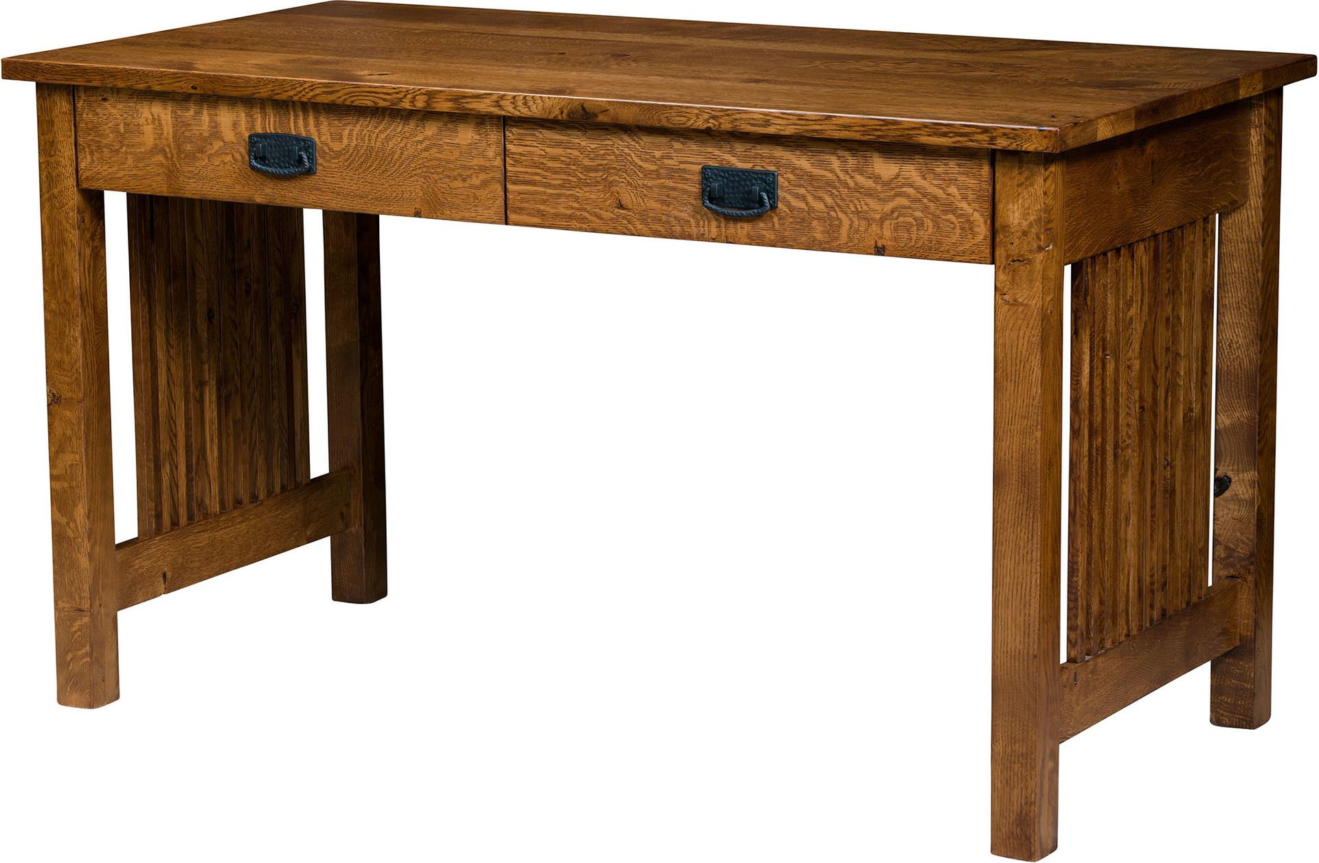 Small Mission Desk Mastercraft Collections 9166 Mission