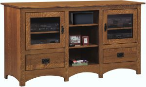 Mission Open Center TV Stand
