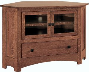 Mission Small Corner TV Cabinet