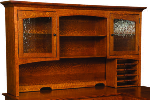 Noble Mission Desk Hutch