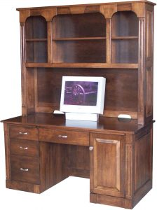 Northport Computer Desk with Hutch