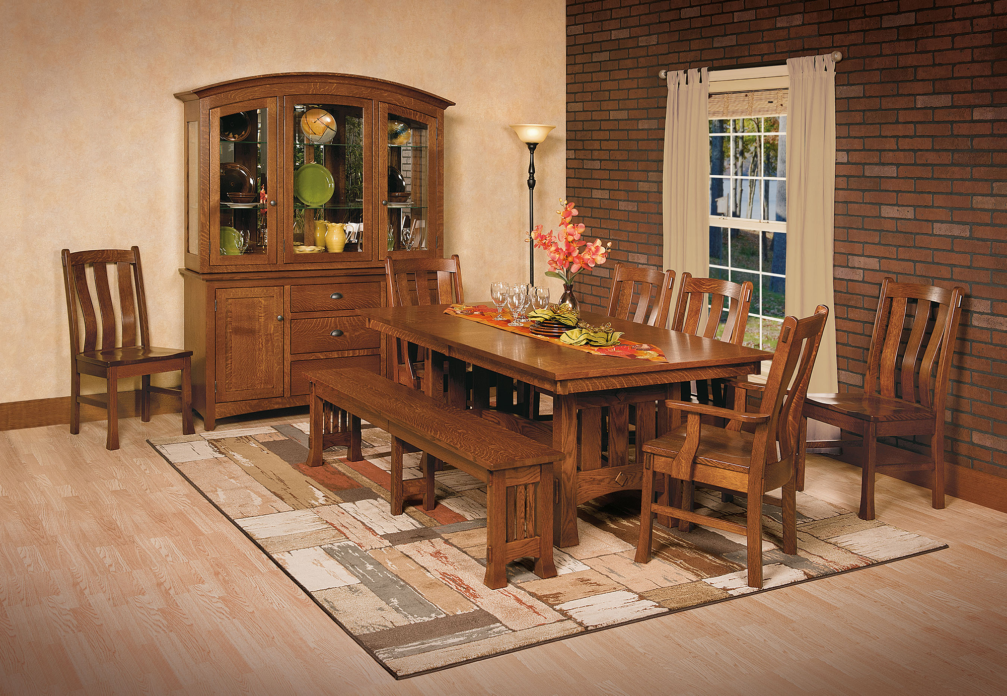 mission dining room sets | Olde Century Mission Dining Set | Amish Olde Century ...