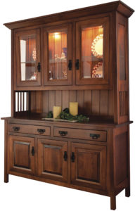 Ouray Six Door Hutch