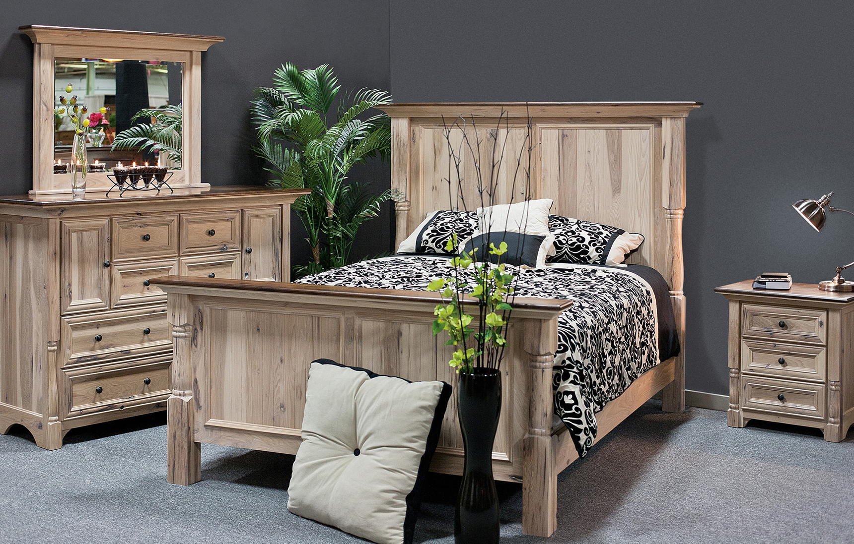 amish palisade collection bedroom set | palisade hardwood