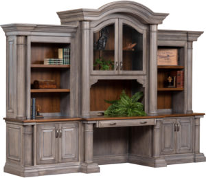 Paris Base with Three Piece Hutch