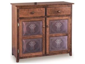 Classic Low Pie Safe with Drawer