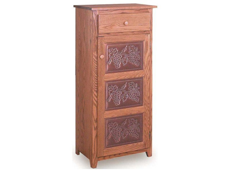 Classic Tall Pie Safe with Drawer