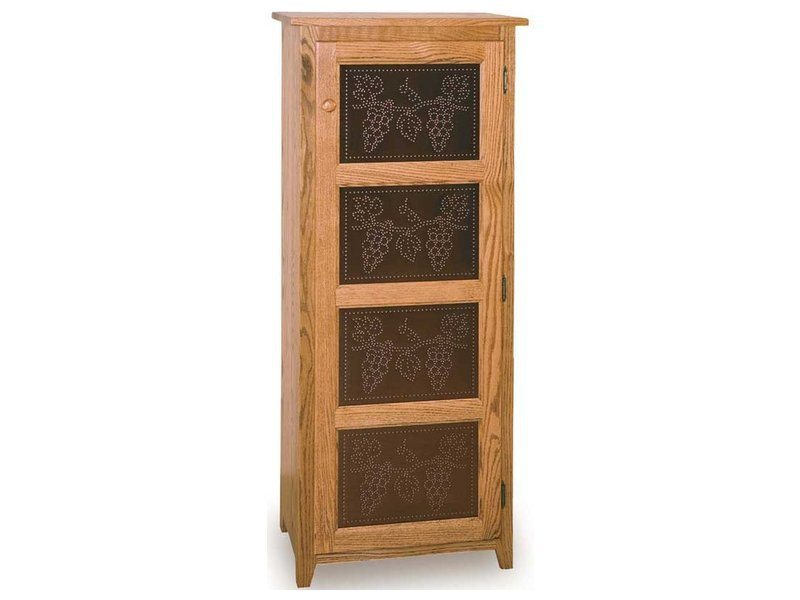 Classic Tall Narrow Pie Safe Brandenberry Amish Furniture